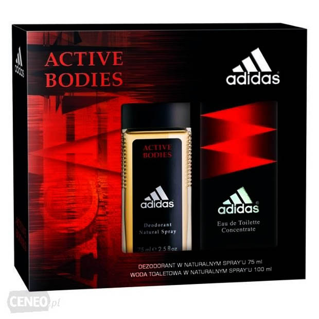 ADIDAS ACTIVE BODIES EDT 100ML + DEO 75ML ORYGINAL