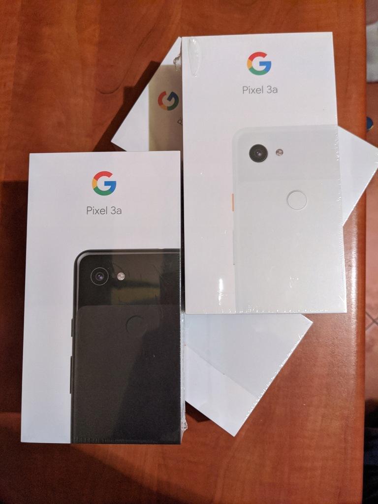 NOWE! Google Pixel 3a 64GB White/Black Gwarancja!