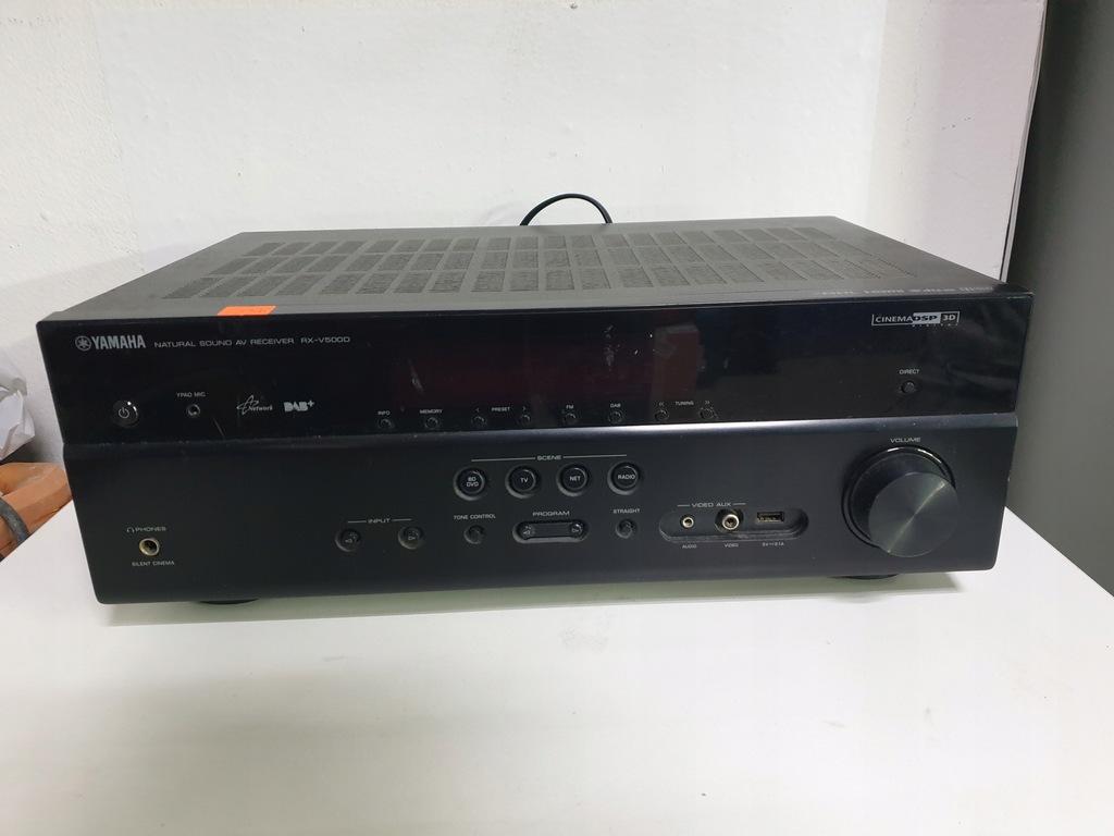 AMPLITUNER YAMAHA RX-V500D 5.1 DAB+ Pilot