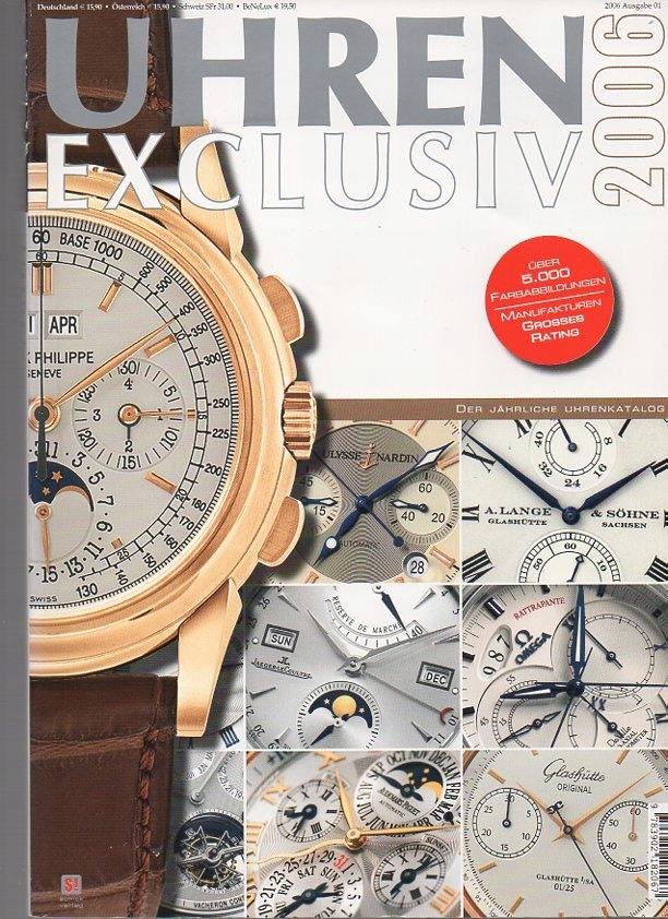 33484 Uhren Exclisiv 2006. Ekskluzywne zegarki