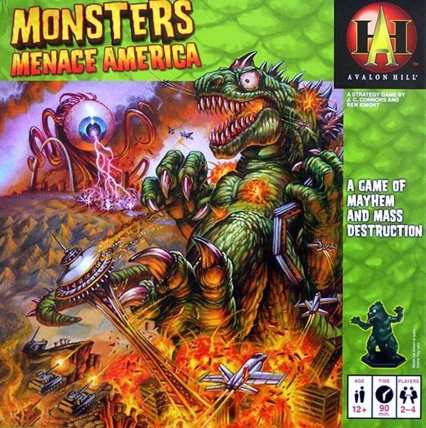 Monsters Menace America STRATEGICZNA Zagłada