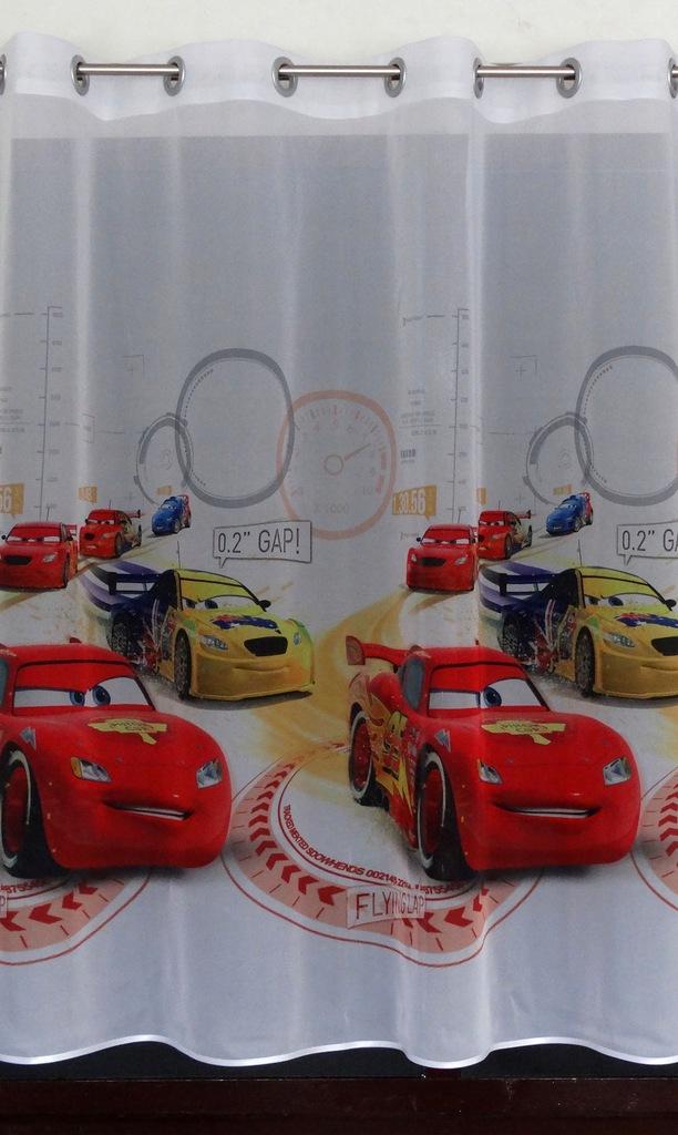 MG FIRANA CARS AUTA DAE2 z przelotkami 150x140cm X