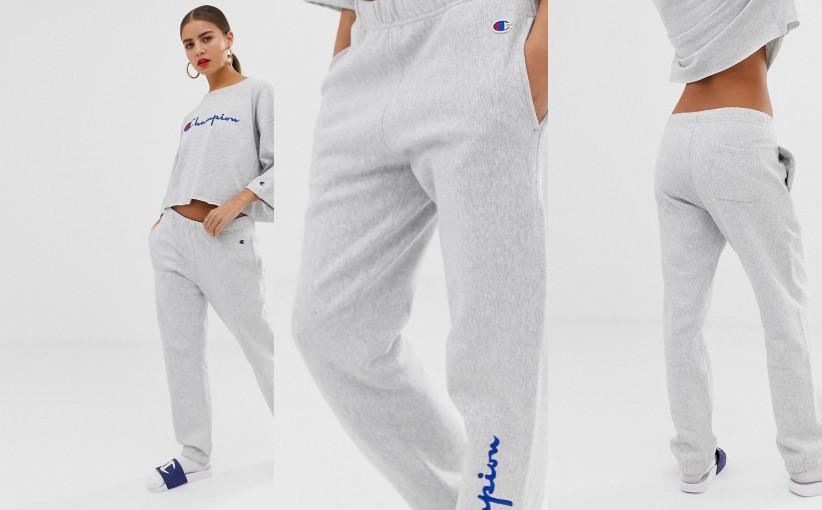 champion spodnie dresowe damskie
