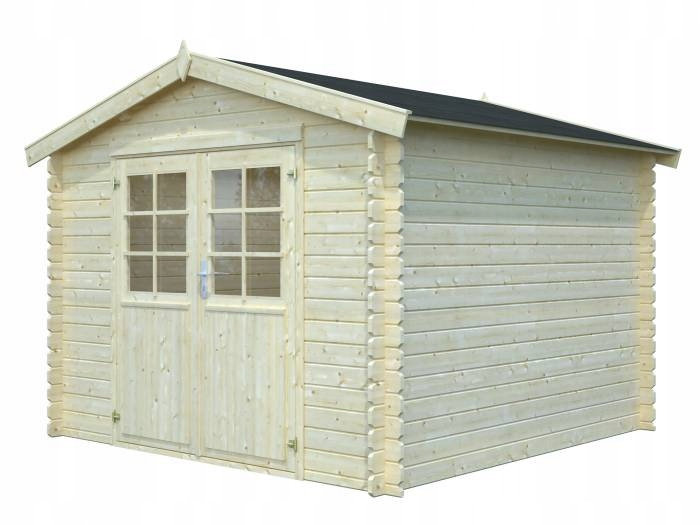 Drewniany domek narzędziowy - EKO 139 296x296