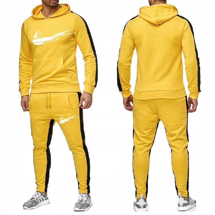 Spodnie dresowe w paski pasują do spor W pas 9XL