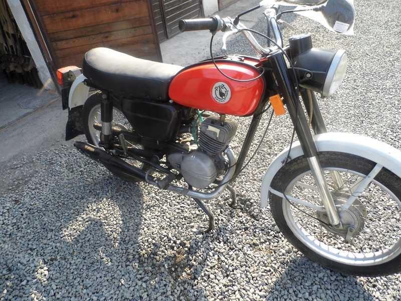Motocykl Wsk 125 M06 B03 1985 Kupiona Od Wojska 8080347984 Oficjalne Archiwum Allegro