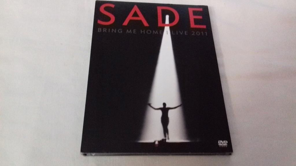 DVD - SADE - BRING ME HOME LIVE 2011 DVD+CD