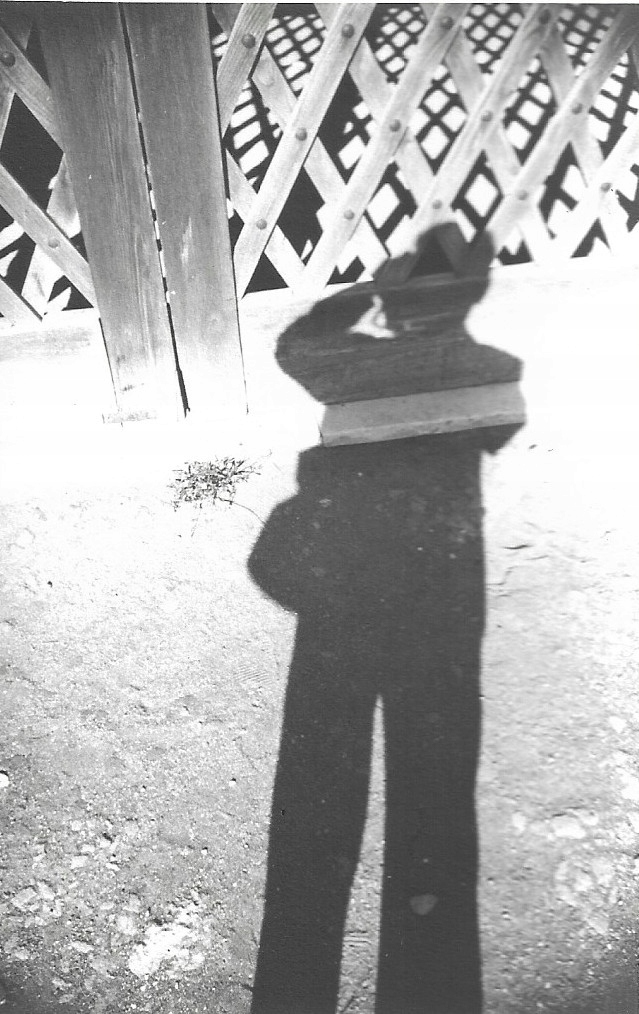 Autoportret, Pompeje, 1957, fot. H Hermanowicz