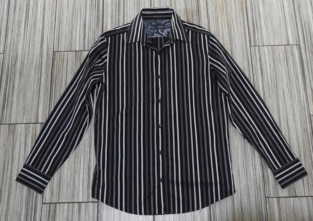 NEXT elegancka luksusowa koszula w paski L