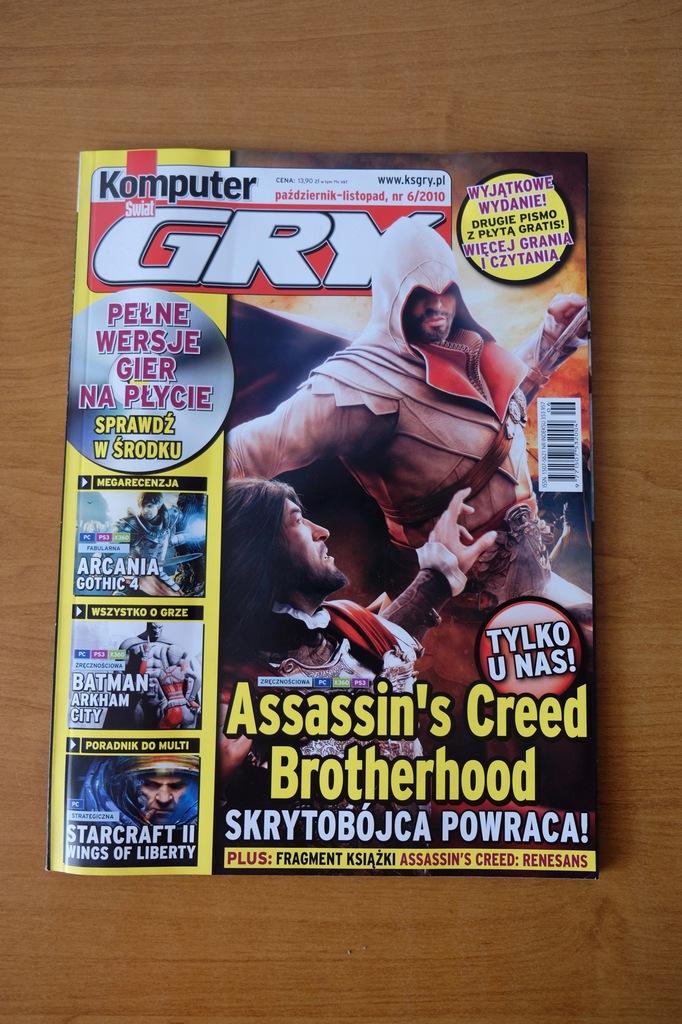 Komputer Świat Gry 6/2010 /Batman Assassin's Creed