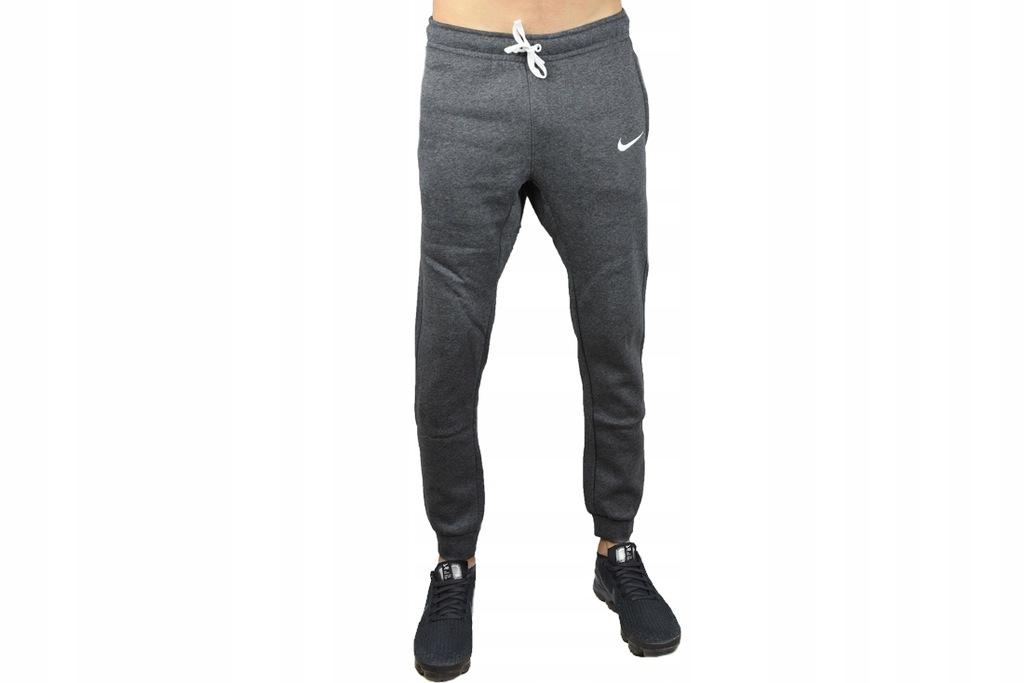 NIKE TEAM CLUB 19 FLEECE PANT (S) Męskie Spodnie