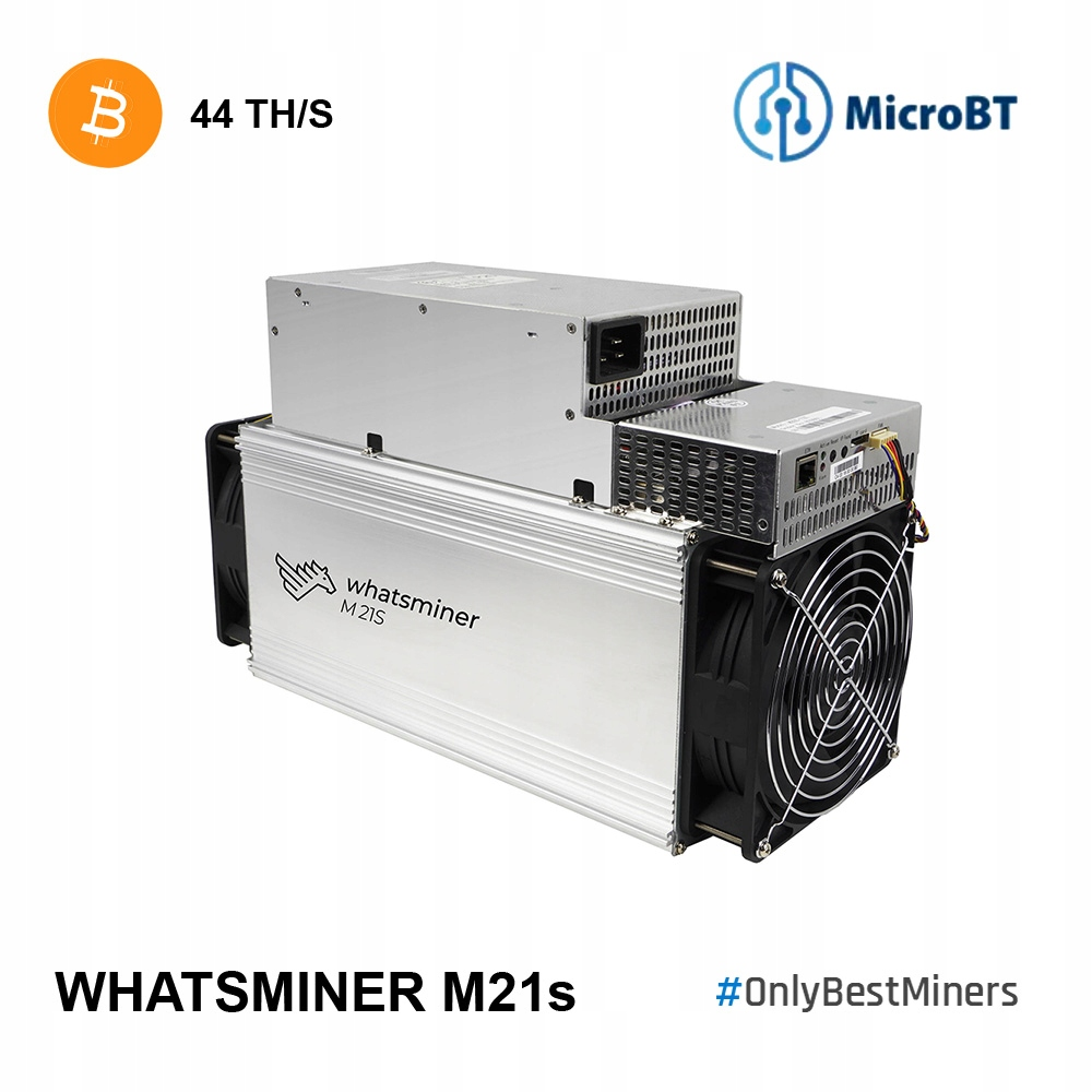 Antminer! Whatsminer MicroBT M21s 44TH S17