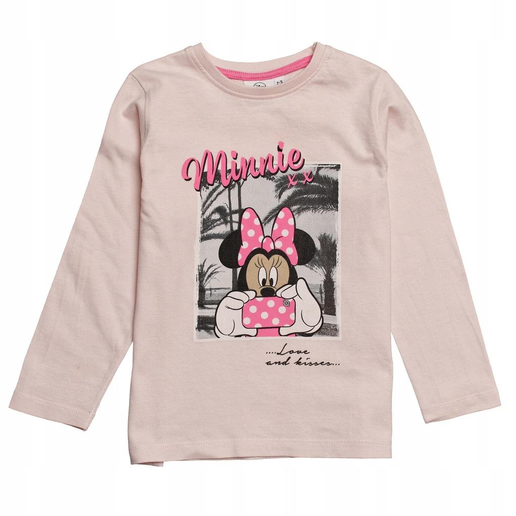 Różowa bluzka Disney, 98 cm, Minnie