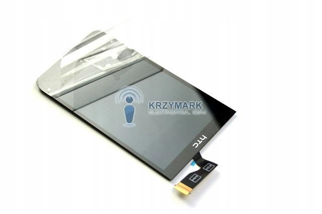 DESIRE HTC 300 ORYG WYŚWIETLACZ LCD CZARNY SZYBKA
