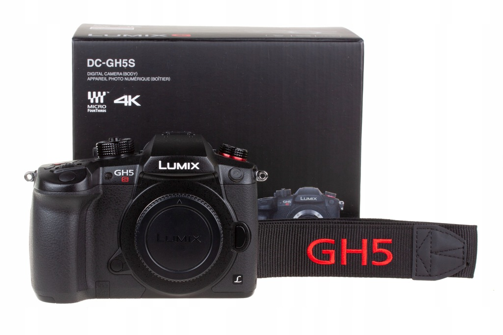 Panasonic Lumix DC-GH5S korpus czarny - jak nowy