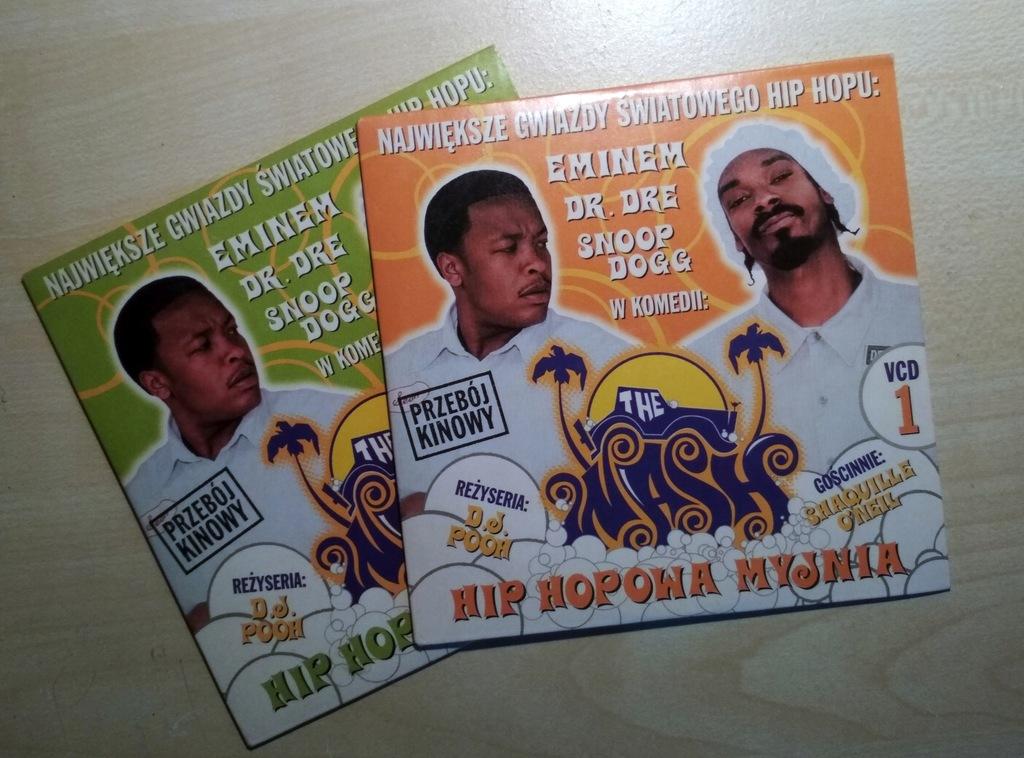 VCD x 2 The Wash Hip-Hopowa Myjnia EMINEM DR. DRE