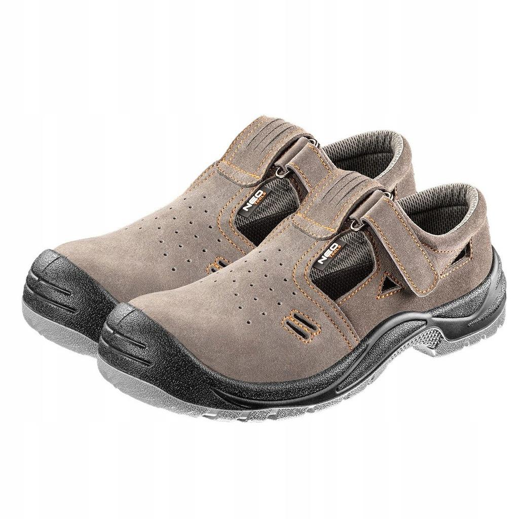 Sandały robocze zamszowe, S1 SRC, rozmiar 42