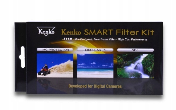 KENKO Smart Filter Slim 55mm Kit super jakość cena