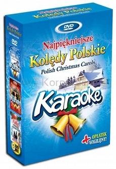 DVD POLSKIE KOLĘDY KARAOKE BOX