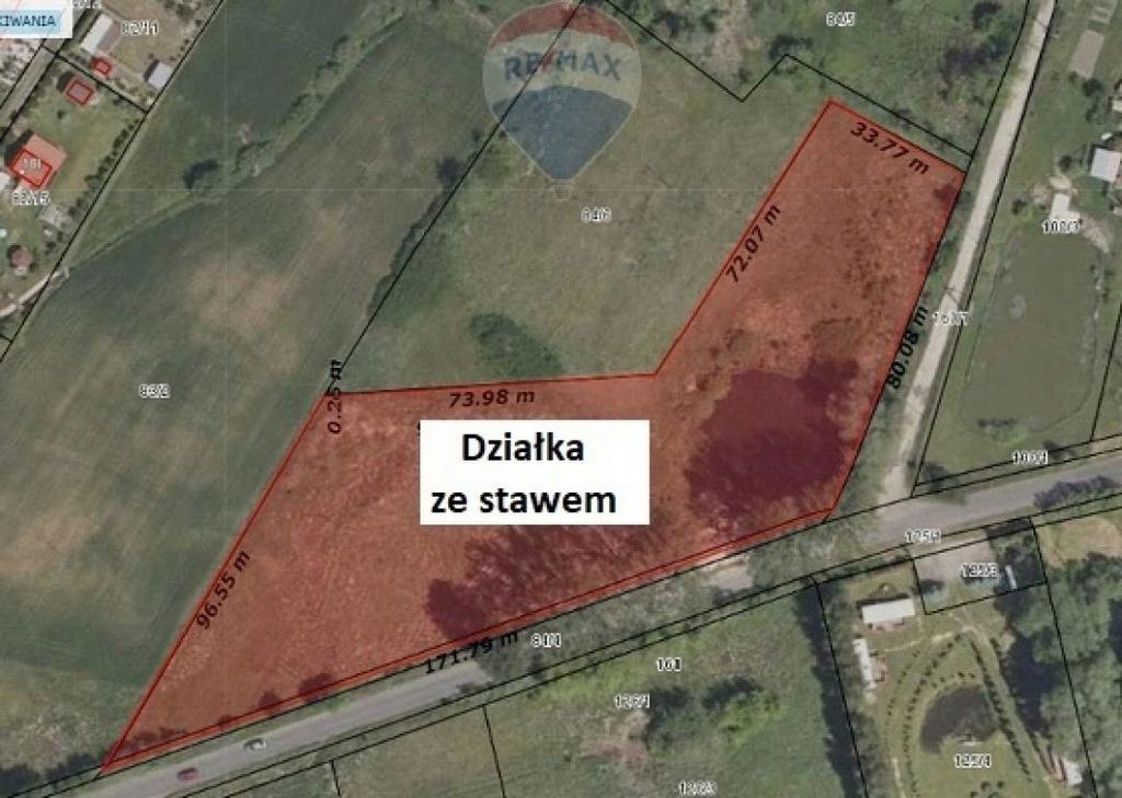 Działka, Łagówek, Łagów (gm.), 9700 m²