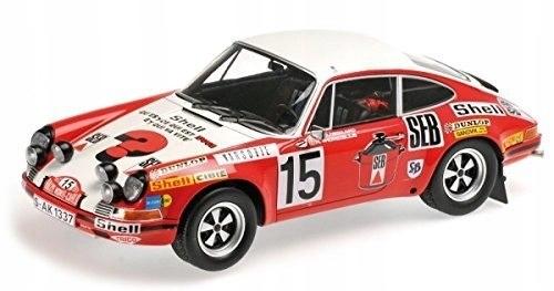 Porsche 911 S #15 Waldegard/Thorszelius Rallye Mon