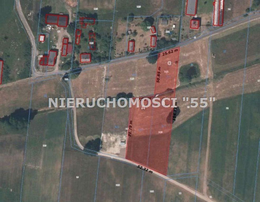 Działka, Drużbice, Drużbice (gm.), 1250 m²