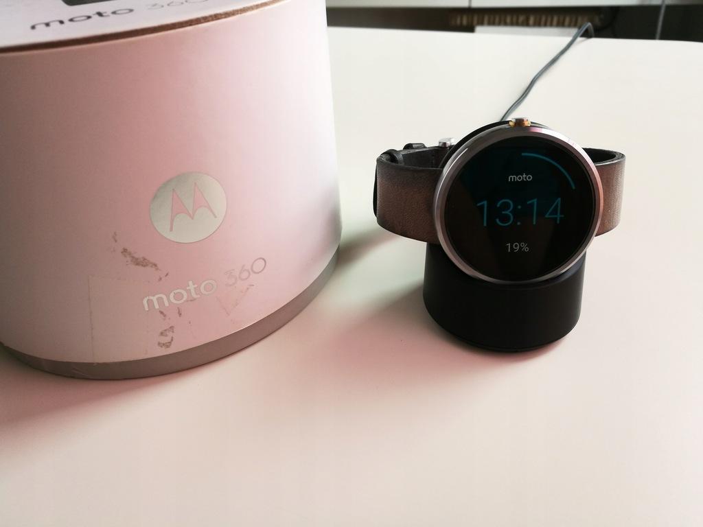 Motorola smartwatch MOTO 360 OKAZJA!