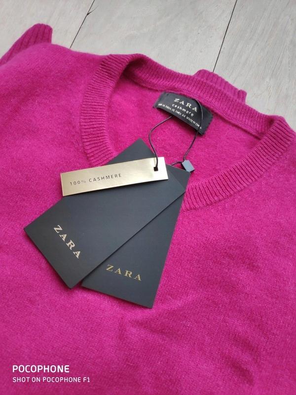 Kaszmirowy sweter XL Zara