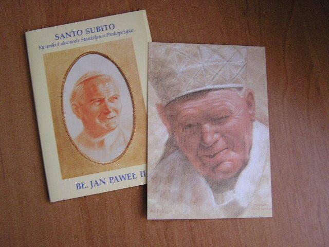 Zestaw POCZTÓWEK ~~ BŁ.Jan Paweł II ~~ SUPER!!!