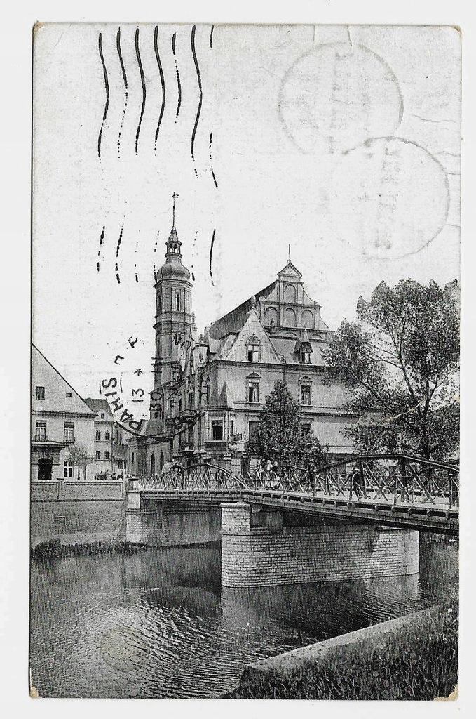 OPOLE Most Zamkowy 1921r. Plebiscyt 542A