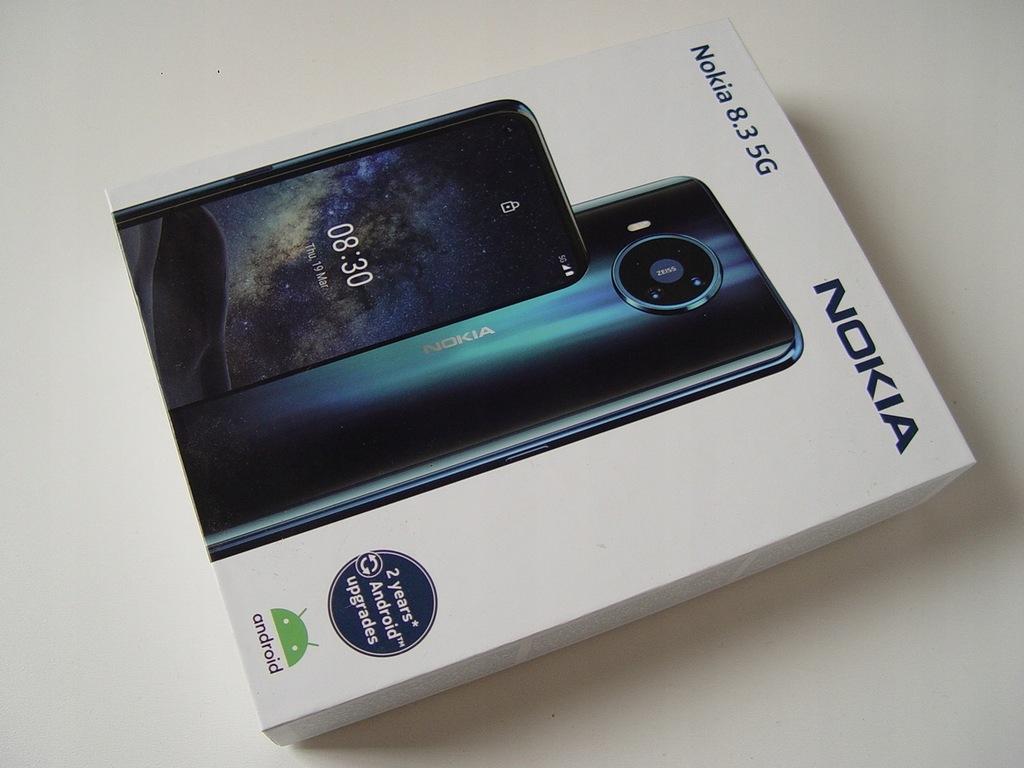 JAK NOWA! Nokia 8.3 5G DS 8GB/128GB