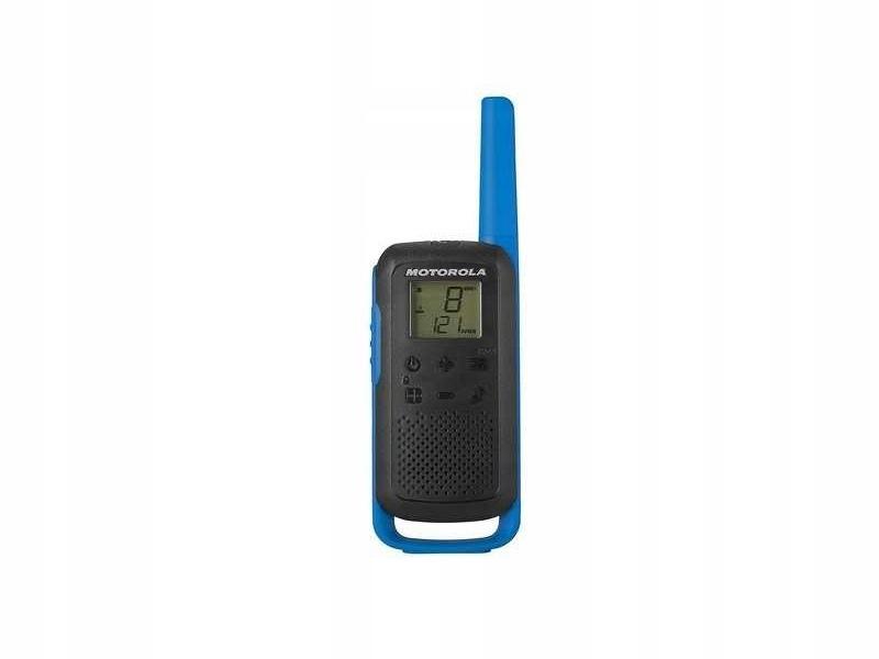 Niebieski Radiotelefon MOTOROLA T62 8km