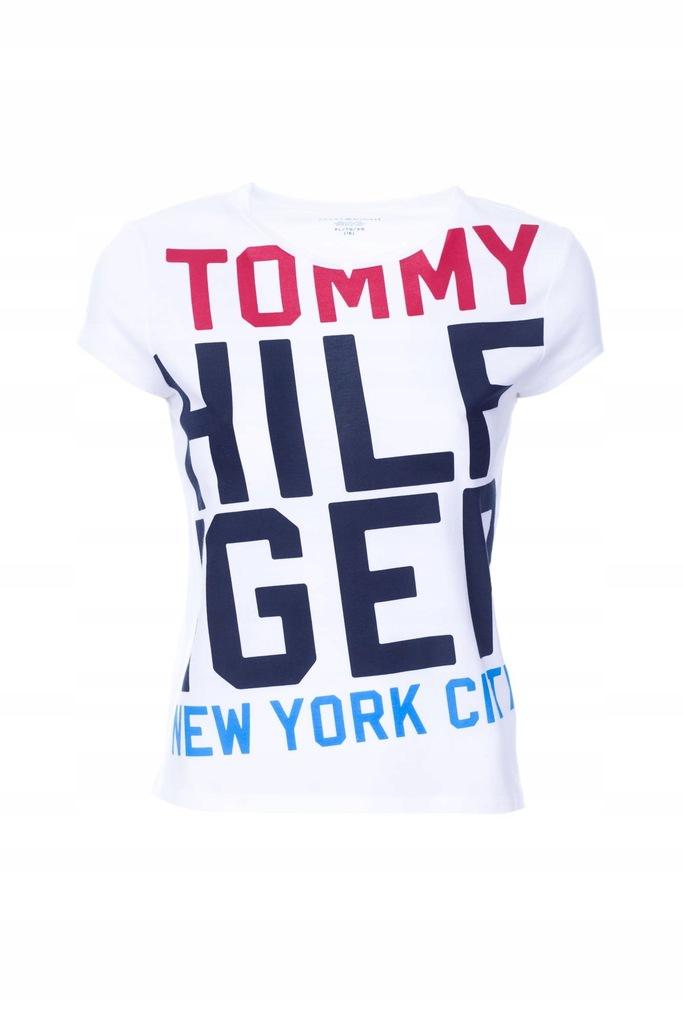THilfiger kids T-shirt Koszulka Logo r. XL 16 lat