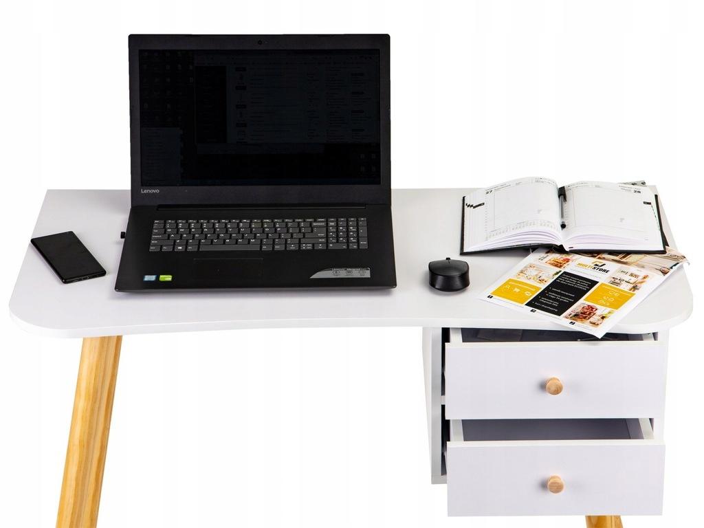 Nowoczesne biurko komputerowe stolik MODERNHOME