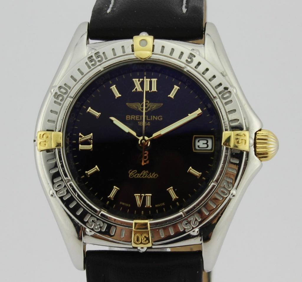 Piękny Breitling złoto/stal REF: B64046