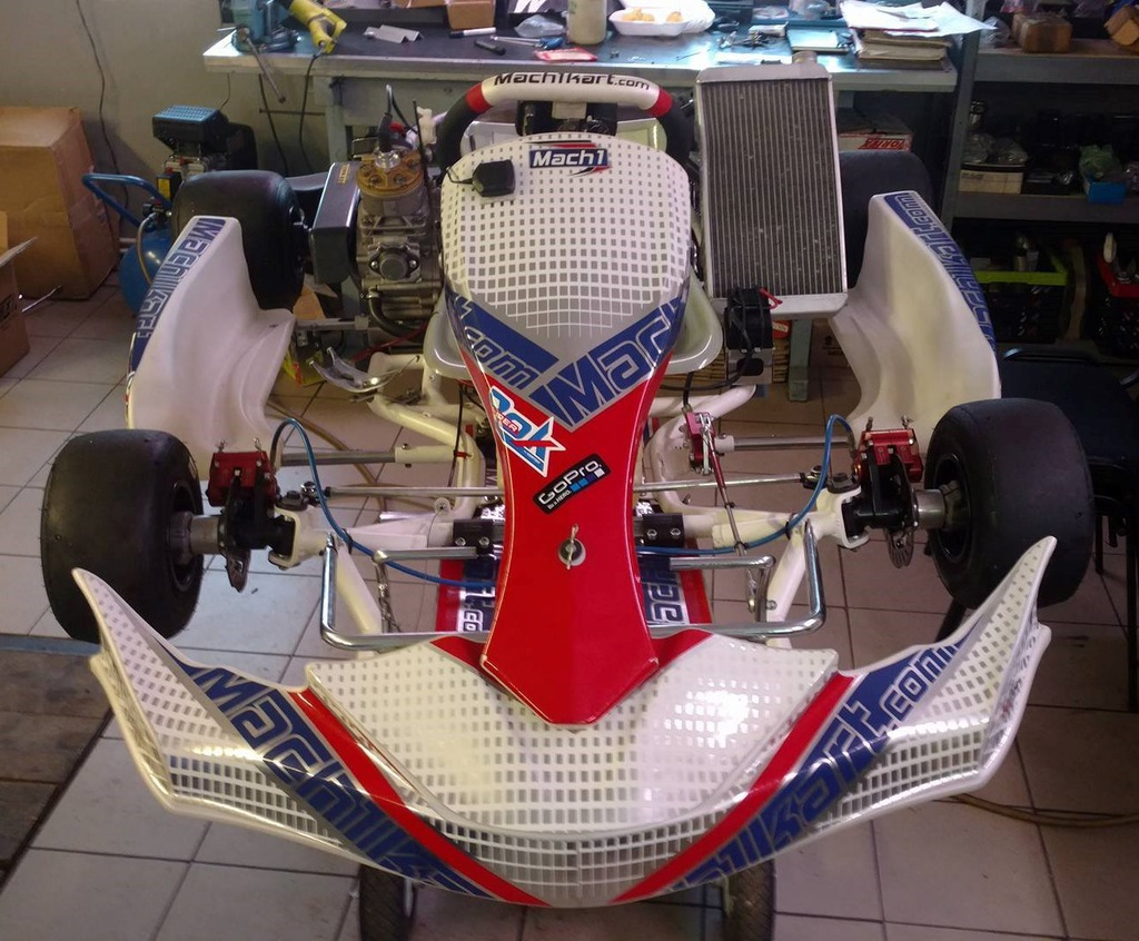 Gokart Rok GP 14/25, rama Mach1 2015,