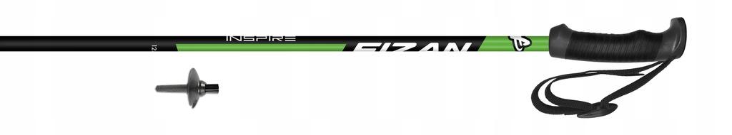 Kije narciarskie Fizan INSPIRE Green 110 cm
