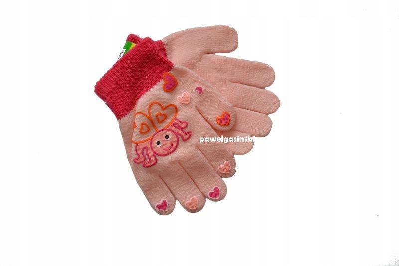 rękawiczki dziecięce 3/4 lat 5palczaste 13 cm * 56