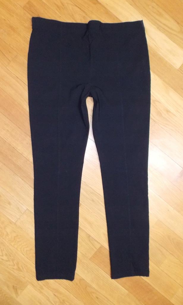 Spodnie ATMOSPHERE cygaretki czarne wizytowe 44
