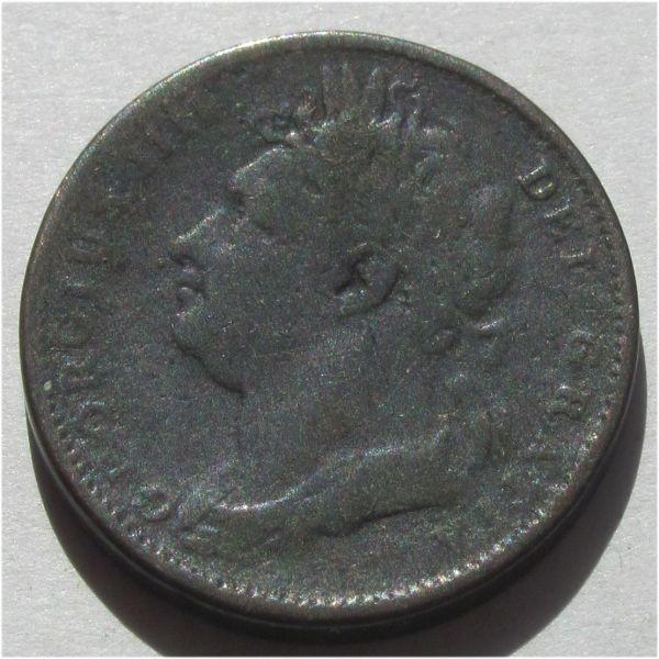 Wielka Brytania 1 farthing 1821