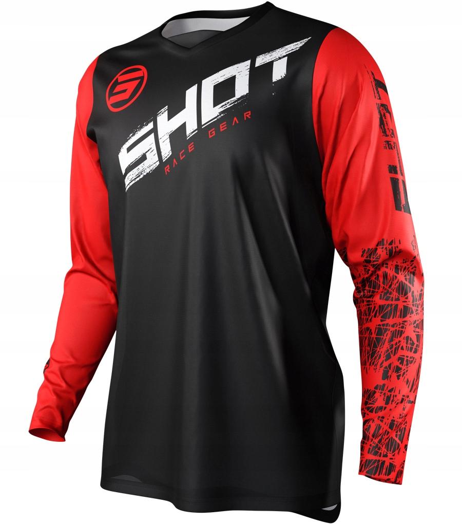 Bluza cross enduro SHOT RACING DEVO RED HONDA L