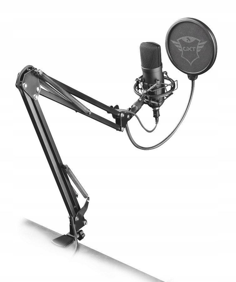 TRUST Mikrofon Emita Plus Streaming