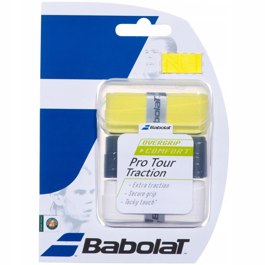 Owijka Babolat Pro Tour Traction 3szt 3 kolory 653