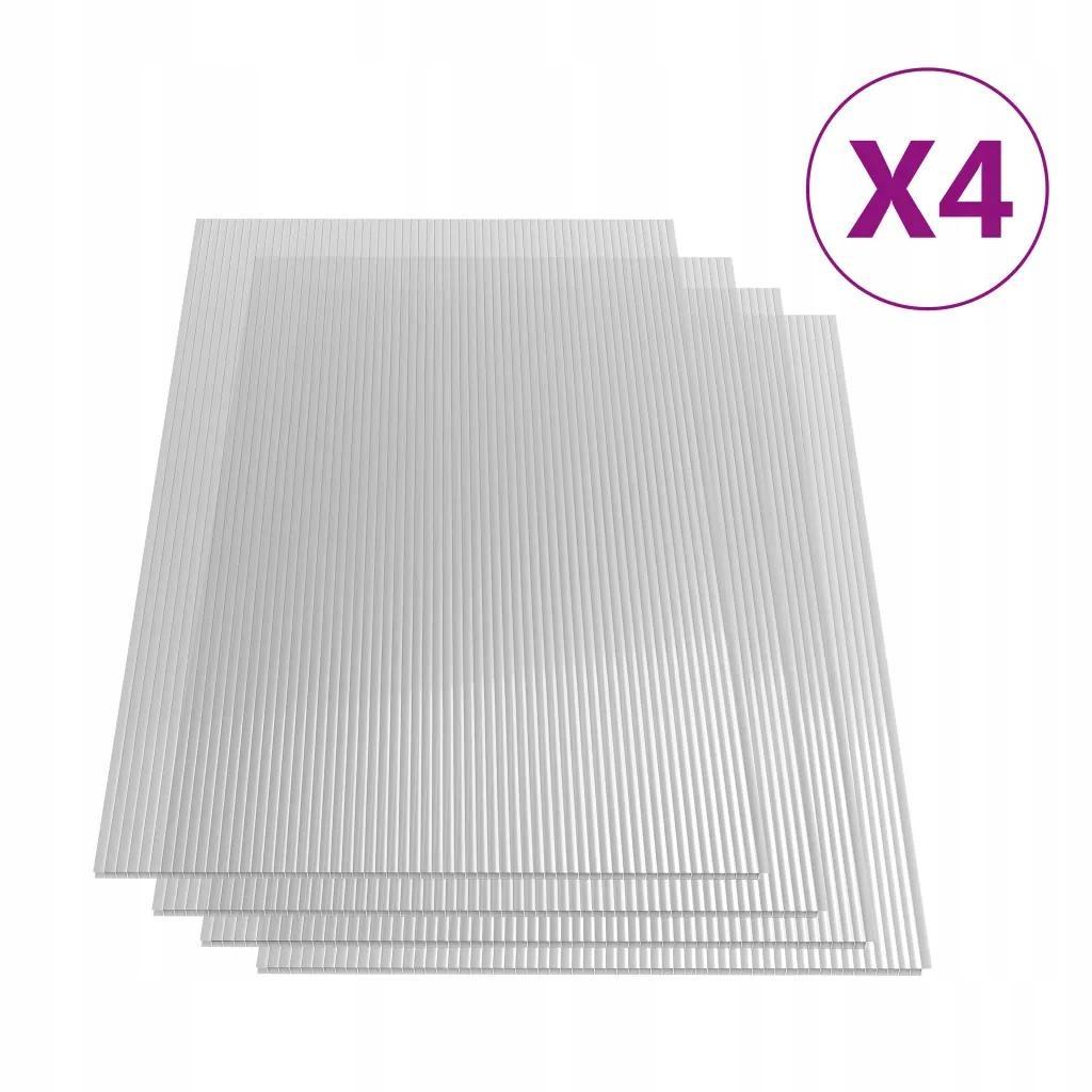 Płyta Poliwęglanowa Do Szklarni x4 121x60,5 cm