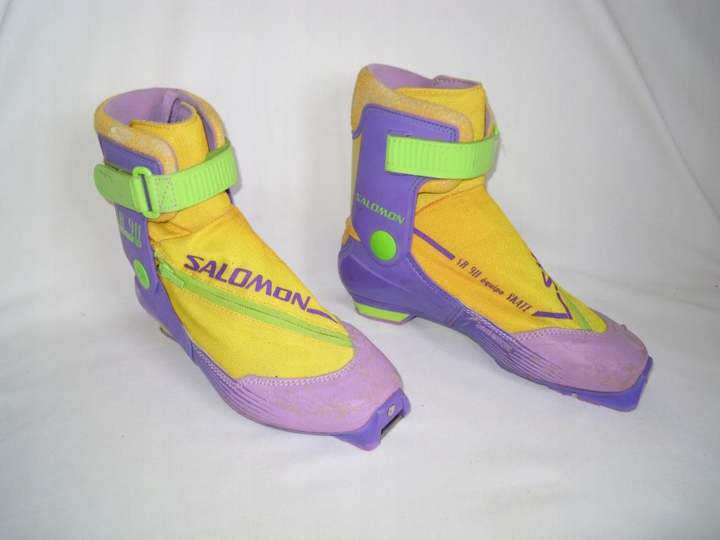 Narciarstwo biegowe Buty: SALOMON 911 Equipe CLASSIC 27,5 cm