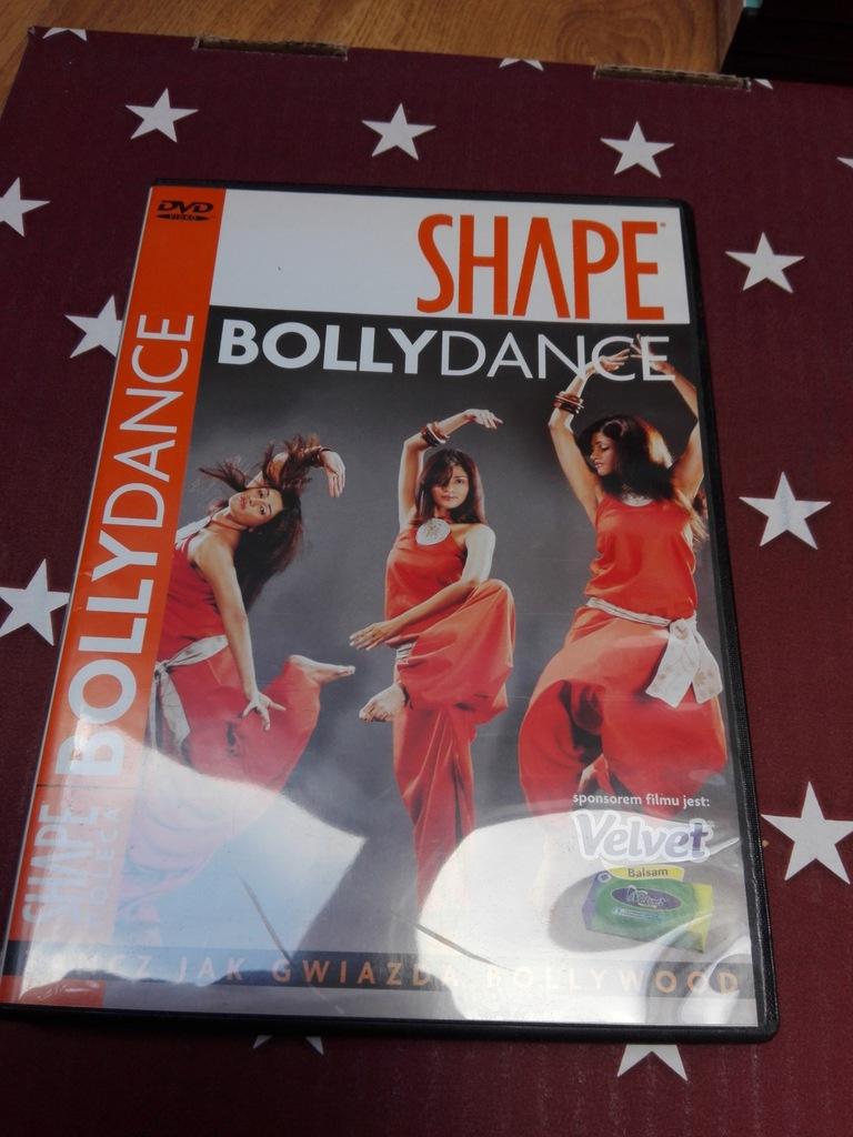 FITNESS SHAPE płyta dvd BOLLYDANCE gratis