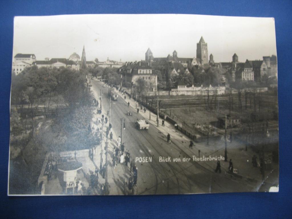 Poznań 1940 tramwaj