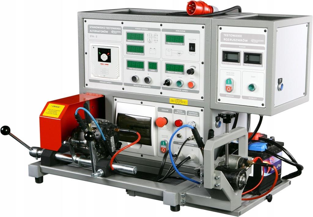 Tester - Stanowisko testowania alternatorów.