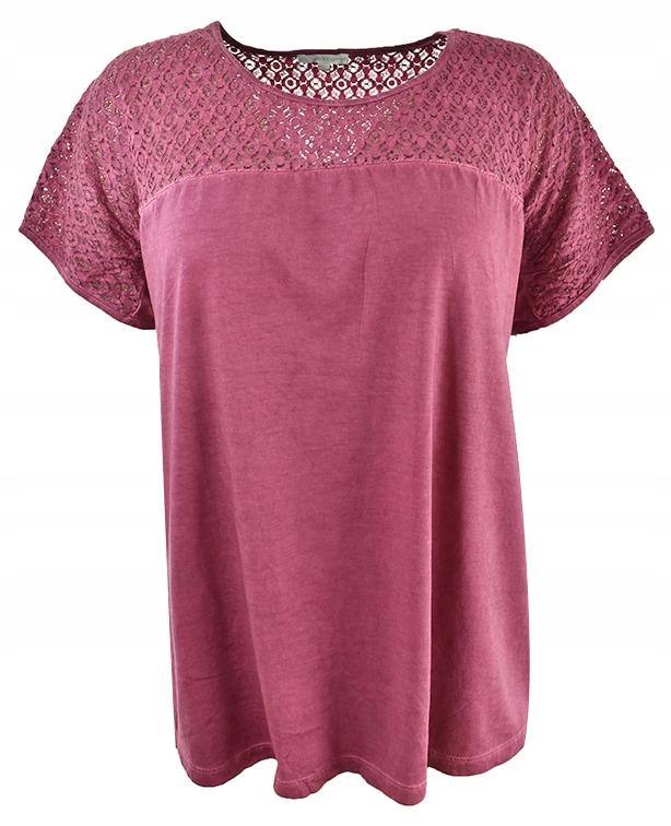 tBH5335 fioletowa bluzka w stylu vintage 50