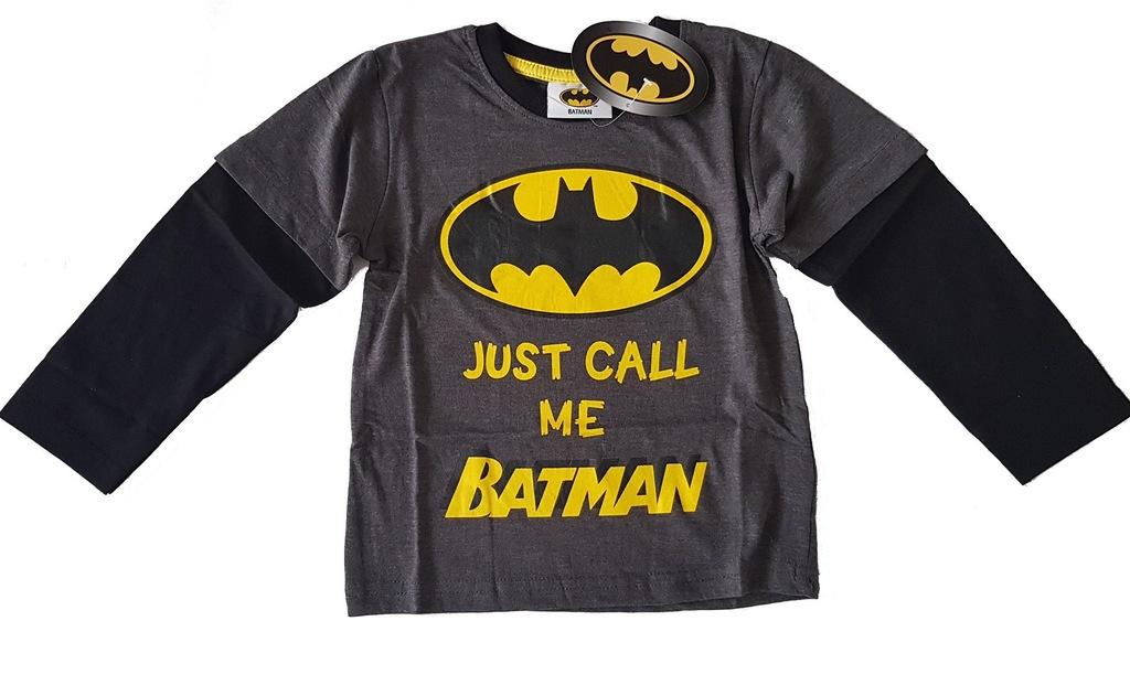 Batman bluzka z długim rękawem koszulka 110 5 L